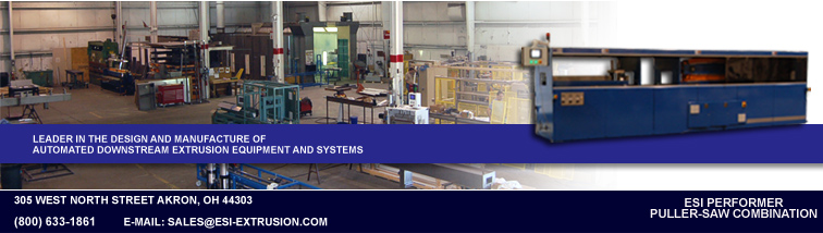 Leader in the design and manufacture of automated downstream extrusion equipment and systems.